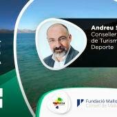 Andreu Serra, conseller de Turismo y Deporte de Baleras, en el especial Gente Viajera en Mallorca