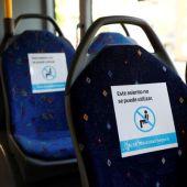 Imagen de archivo de un autobús