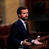 Pablo Casado, líder del Partido Popular (PP)