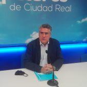 Miguel Ángel Rodríguez durante la rueda de prensa