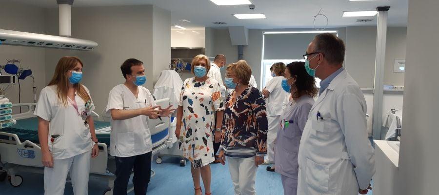 Ana Barceló en el Hospital General
