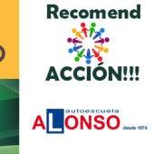 Recomend ACCION con Autoescuela Alonso