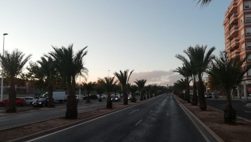 Avenida de la Unesco de Elche.