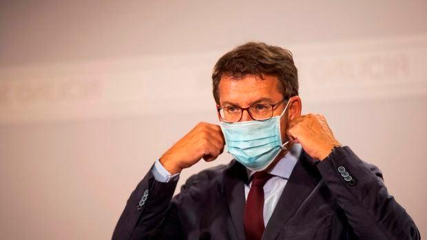 """Alberto Núñez Feijóo: """"El virus no es un problema que afecte a la mayoría de la población en Galicia"""""""