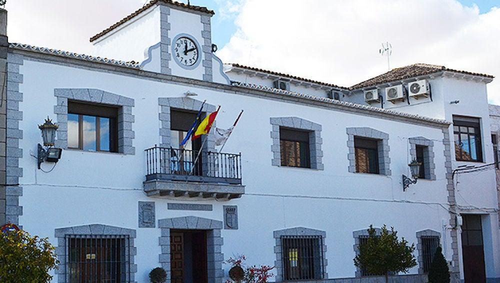 Fachada ayuntamiento Miguel Esteban