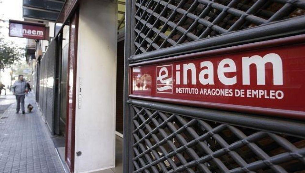 Más de 85.800 personas en Aragón están inscritas en las oficinas del INAEM