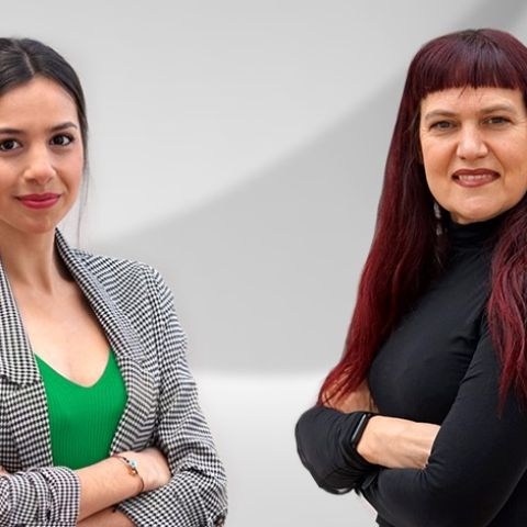 Mireia Roig y Lorena Pardo