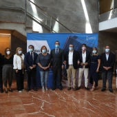 Representantes de las administraciones públicas y del sector turístico provincial