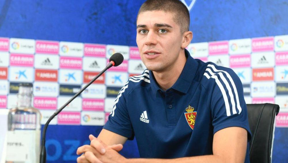 Luca Zanimacchia, jugador del Real Zaragoza