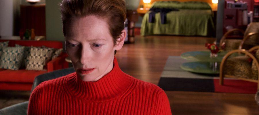 La actriz británica Tilda Swinton, en una imagen promocional de 'The human voice', de Pedro Almodóvar