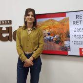 Sarah López, concejala de Medio Ambiente en Elda.