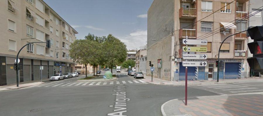 Avenida Felipe V de Petrer.