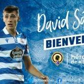 David Sánchez, nuevo jugador del Hércules