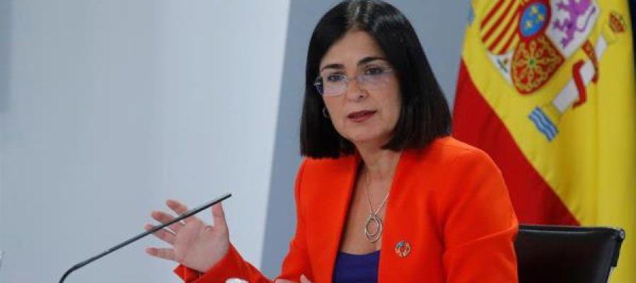 Ministra de Política Territorial y Función Pública, Carolina Darias