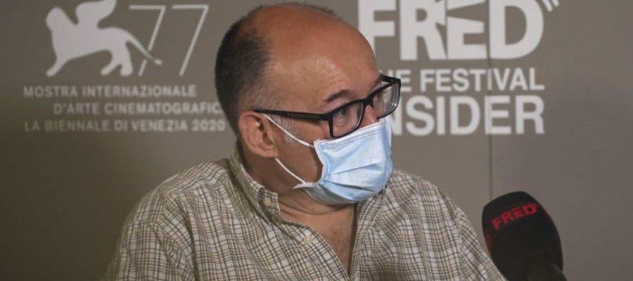 José Luis Rebordinos, director del Festival de San Sebastián, a su paso por Venecia 2020