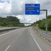 Cortes na autoestrada AG-53 entre Dozón e San Cristovo de Cea