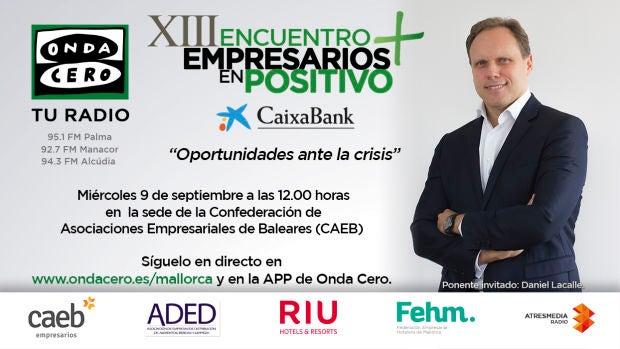 Vuelve a ver el XIII Encuentro de Empresarios en Positivo con el economista Daniel Lacalle