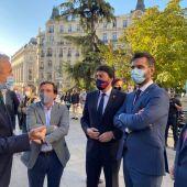 Barcala en Madrid con otros alcaldes