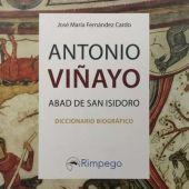 Portada del libro 'Antonio Viñayo, Abad de San Isidoro'
