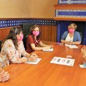 Reunión de AMUMA con representantes de la delegación provincial de la Junta