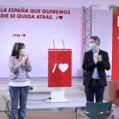 Adriana Lastra en Alcalá