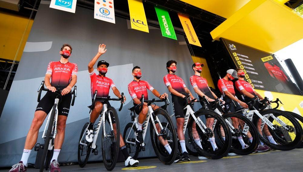 El equipo Arkéa-Samsic de Nairo Quintana