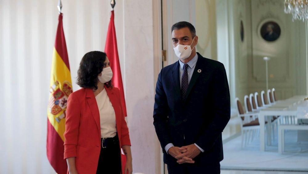 Estos son los puntos del acuerdo Ayuso - Sánchez para frenar el coronavirus en la Comunidad de Madrid