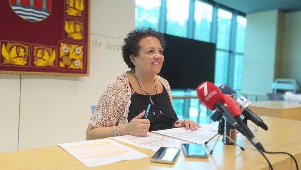 María José González Peña, delegada de Seguridad de Arcos