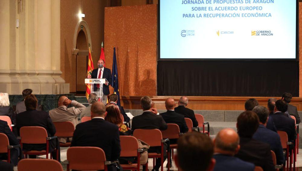 Jornada organizada por la CEOE Aragón