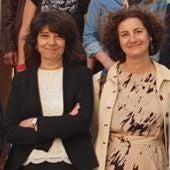 Carmen Fidalgo y Lucrecia Valverde