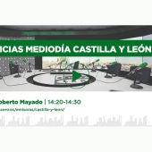 NOTICIAS MEDIODIA CYL ROBERTO MAYADO