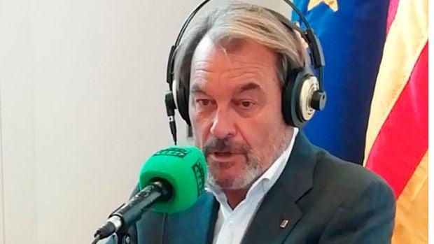 """Artur Mas: """"Lo mejor sería ir a elecciones, pero no tienen por qué ser convocadas por Torra"""""""