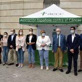 Las administraciones de Ciudad Real han mostrado su apoyo a la AECC
