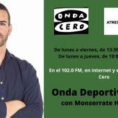 Onda Deportiva Elche, con Monserrate Hernández.