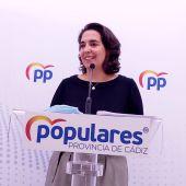 Carmen Sánchez, portavoz del PP de Cádiz