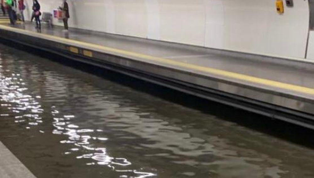 Interrumpido el metro de Madrid