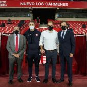 El Lokomotiv visita Los Carmenes