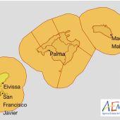 Alerta naranja en Mallorca por temporal marítimo y viento fuerte