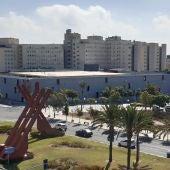 Vista del Hospital General de Alicante