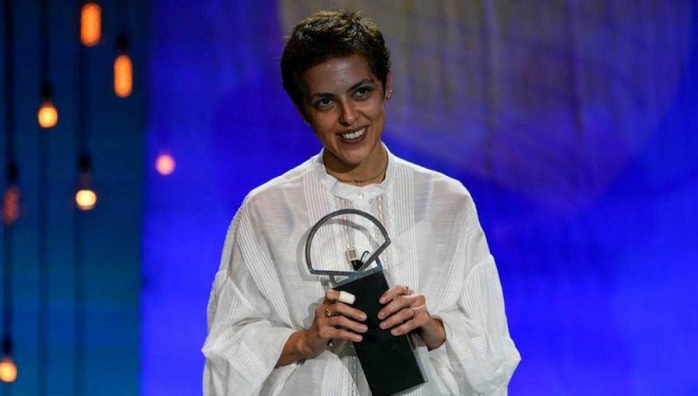 La directora georgiana Dea Kulumbegashvili, gran triunfadora del 68 Festival de San Sebastián