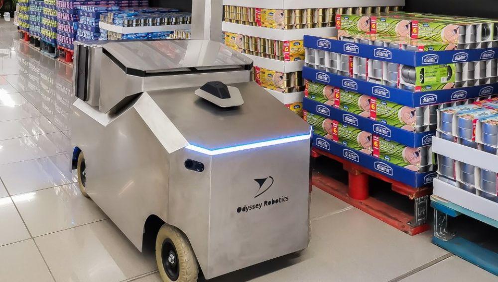El robo O3R desarrollado por la startup Odyssey Robotics de la UMH de Elche.