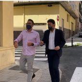 Adrián Santos Pérez y Luis Barcala