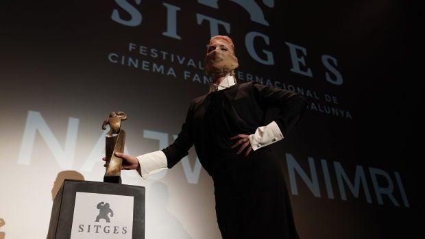 """Najwa Nimri: """"Me dan el premio honorífico de Sitges a los 48 años por si me muero"""""""