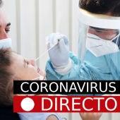 Coronavirus España, hoy: Última hora de los nuevos casos y datos del COVID-19, EN DIRECTO