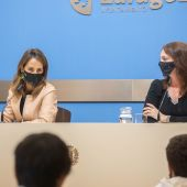 María Navarro y Carmen Herrarte tras el Gobierno de Zaragoza