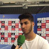 Marco Asensio, con el micrófono de Onda Cero.