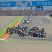 Prueba de GP Aragón en Motorland