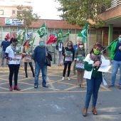 La concentración se ha desarrollado en el Centro de Salud Pío XII de Ciudad Real