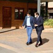 Paco Núñez ha visitado Bolaños donde se ha reunido con el alcalde