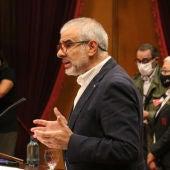 Carlos Carrizosa, al Parlament de Catalunya.